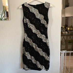 Cache Sequins Dress